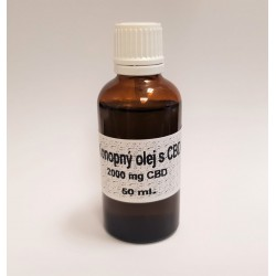 CBD konopný olej 50 ml/2000 mg CBD Full Spektrum