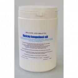 Bazická koupelová sůl 750 ml.