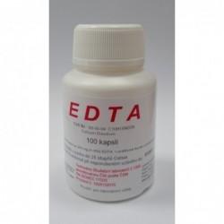 E D T A Calcium Disodium 100 kapslí - pro laboratorní účely